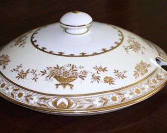 Minton Dynasty Soup Tureen Bowl LID ONLY - Mint condition (D)