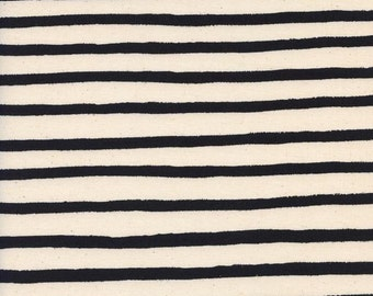 Pre-Sale- Cheshire Stripe in White- Wonderland by Rifle Paper Co for Cotton and Steel