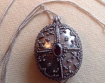 Silver Vintage locket