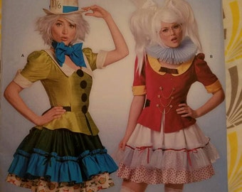 White Rabbit and Mad Hatter Inspired Cosplay Costumes