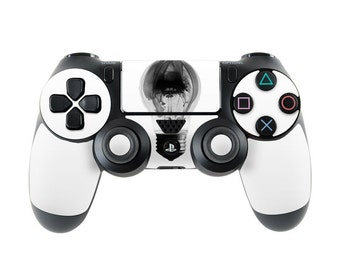 Sony PS4 Controller Skin Kit - Burnt Out by Andreas Stridsberg - DecalGirl Decal Sticker