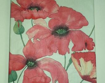 Swaffer Poppyfields Fabric Art Picture
