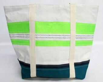 Sailcloth bag, recycled sails, sail bag, HA025E
