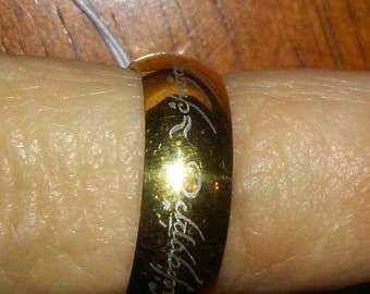 The One Ring to Rule them All! LOTR size 6,7,8,9,10.11,12