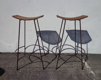 6 Stendig Thonet Bentwood Chairs No B9 Dining Chair Wood Cane