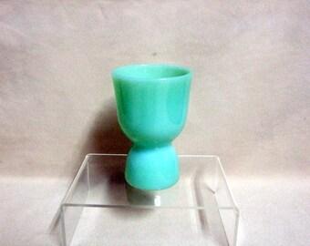 Fireking Jadeite Double Sided Egg Cup