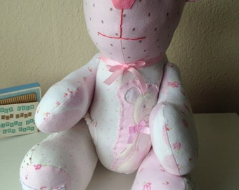 Keepsake Bear from your Baby Clothes