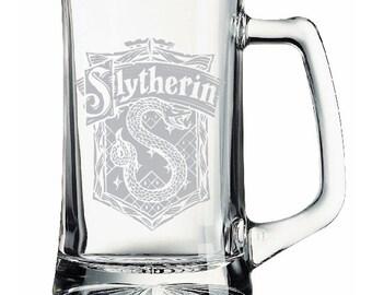 Harry Potter Slytherin Etched Mug