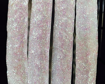 Snow White Sparkle Blitzy Band, Non-SLIP Adjustable Headband, Nonslip headband, non slip headband, no slip headband