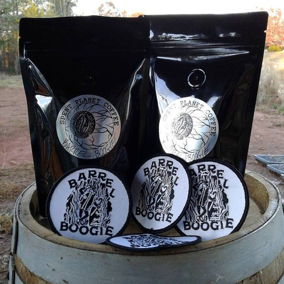 Barrel Boogie Barrel Aged Coffee Blend + Embroidered Patch