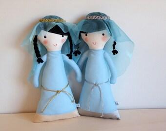Rag doll: Blue Princess