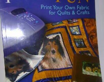 Photo Fun Print Your Fabric