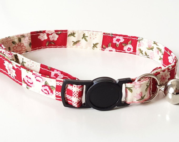 Red and pink patchwork