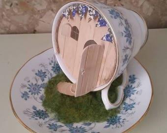 Fairy tea cup house