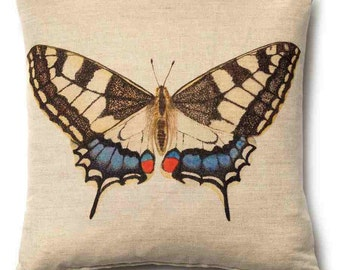 Swallowtail Butterfly Cushion