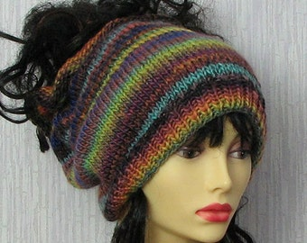 EXPRESS Shipping, Unique Dreadlocks  headband, dreads wrap dread tube Tam Hat for Dreads Colorful Knitting Headband