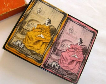Blackstone playing cards, playing cards, vintage Blackstone cards, vintage card decks, 1935