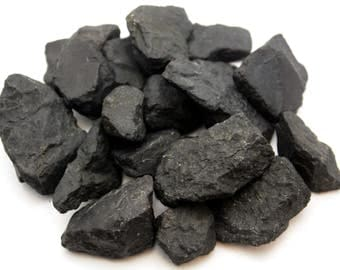 Shungite - Rough Pieces - 1 Pound - 1 to 3 inch - Bulk Lot lb
