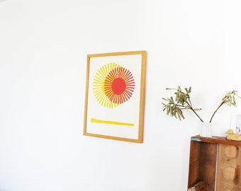 LImited Edition Sun Art Print
