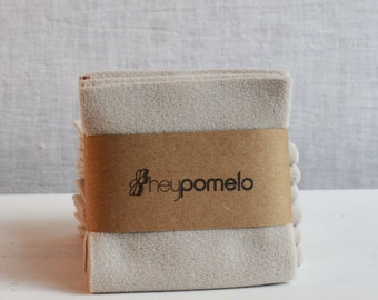 Eco Baby Wipes - 3 in a pack, made from recycled poly fleece
