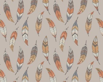Lewis & Irene To Catch a Dream Patchwork Quilting Fabric A174.2 Feathers on Sand
