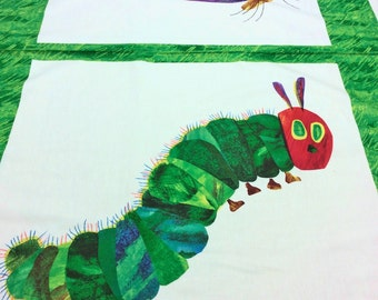 The Very Hungry Caterpillar Encore Panel by Eric Carle for Andover Fabrics for Makower UK 5280/M