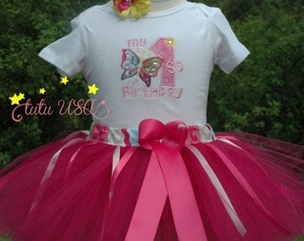 Butterfly Baby Girl First Birthday Outfit, Butterfly 1st Birthday Outfit, Baby Girl 1st Birthday Outfit