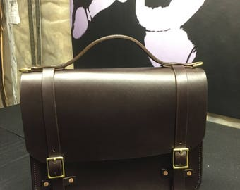 Leather Briefcase, Handmade Leather Briefcase, Leather Satchel, Handmade Leather Satchel, Laptop Bag