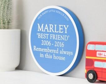 Personalised Heritage Blue Plaque