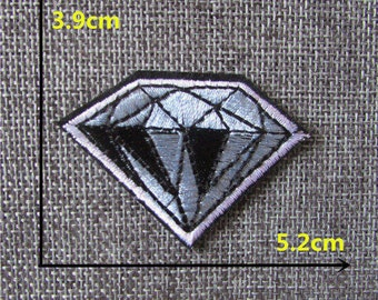 Diamond Adhesive Applique Embroidery Patches!