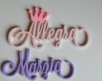 Wooden names in promotion