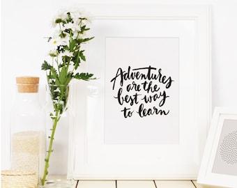 Art print - Adventures