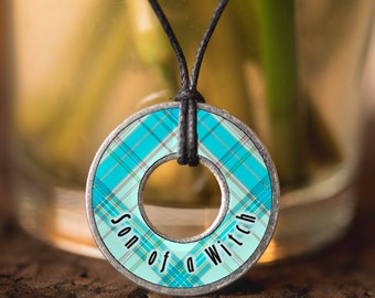 Son of a Witch Washer Necklace