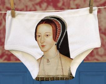 Funny Anne Boleyn Underwear Gift.