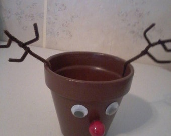 Rudolph candy holder