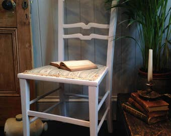 Antique hand painted occasional chair
