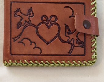 Vintage Leather Wallet 1950's