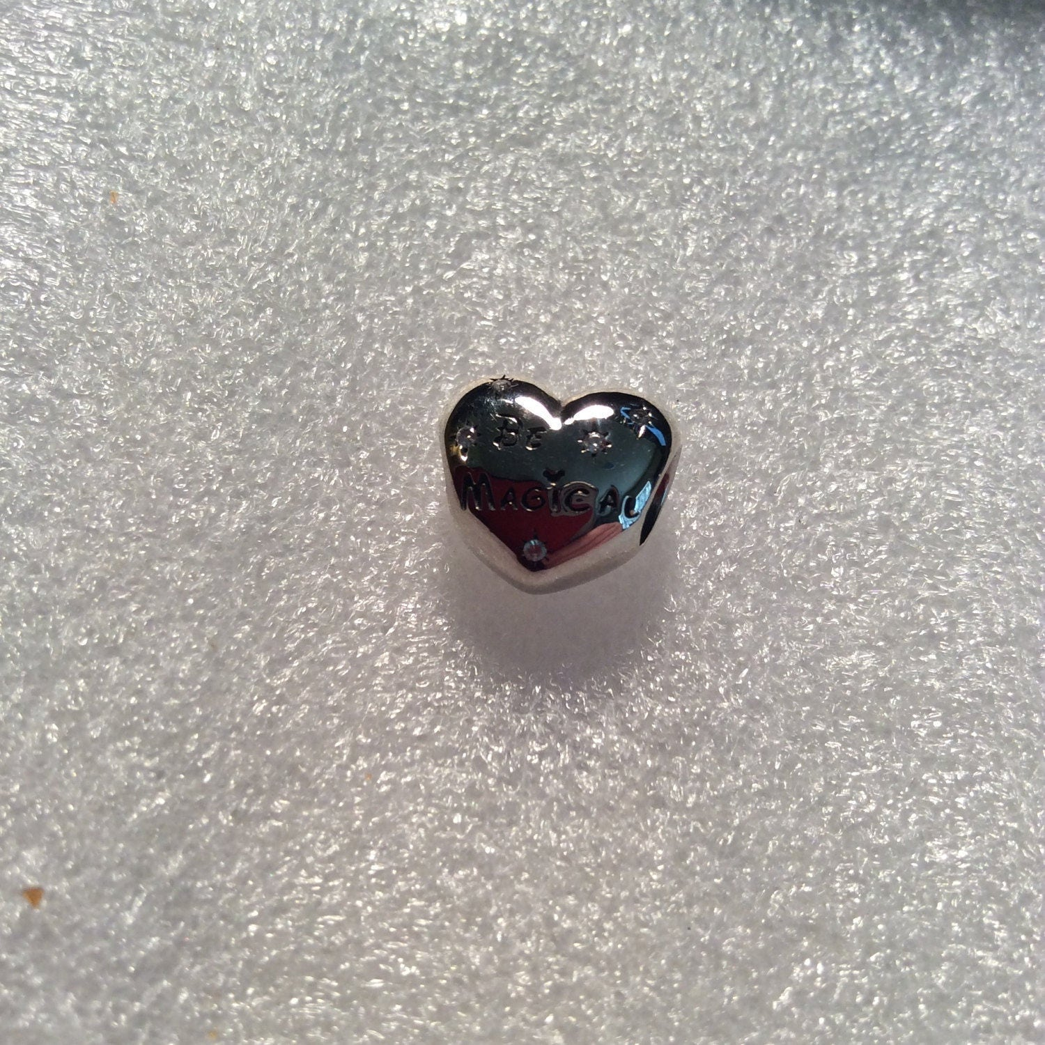 pandora disney be magical charm with cz and