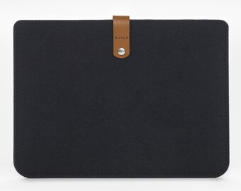 iPad wool case, iPad Wool Cover, iPad Felt Sleeve, iPad Leather Cover
