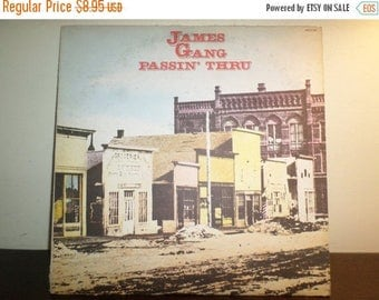Save 30% Today Vintage 1972 Vinyl LP Record Passin Thru James Gang Excellent Condition 8694