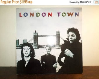 Save 30% Today Vintage LP Record Wings London Town Paul McCartney Capitol Records Excellent Condition 9370