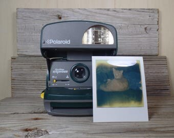 Working Tested Polaroid One Step Express Instant Camera Polaroid One Step Polaroid Instant Film Polaroid 600 Film Polaroid SX70 Polaroid