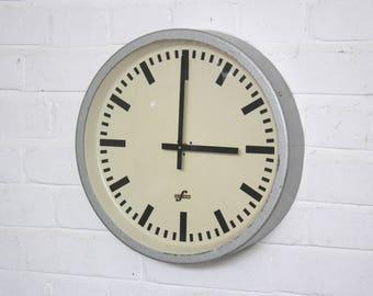 East German Industrial Clock Circa 1960's