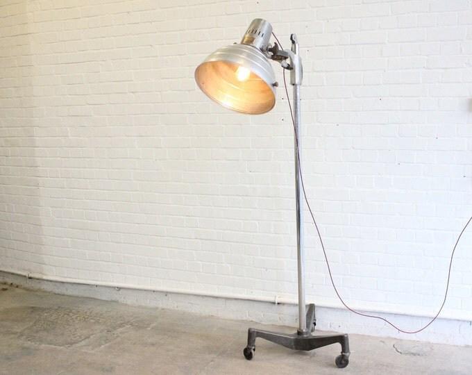 "The ""Sollux"" Floor Standing Mid Century Medical Lamp"