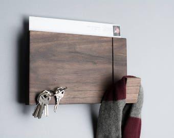 Wall rack - Walnut