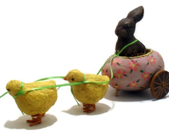 Easter Figurine Hand made Reproduction Collectibles