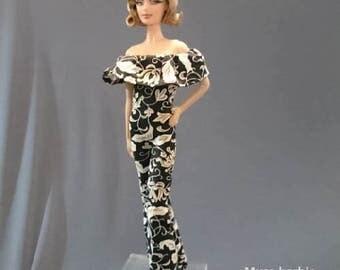 Dolls jumpsuit for Barbie,Tall barbie, FR,Silkstone,Vintage barbie- No.0104