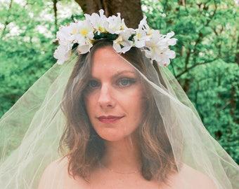 Bridal Flower Crown | Flower Crown | Festival Crown | Hair Accessory