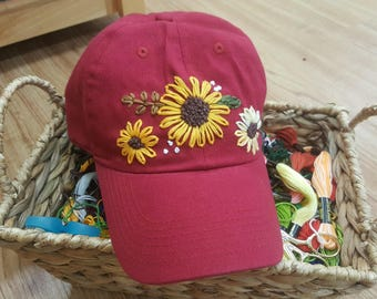 Sunflower Hat