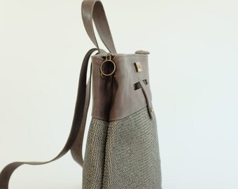 Leather Backpacs, Gray leather backpack, leather backpack, daily backpack, Gray leather backpack